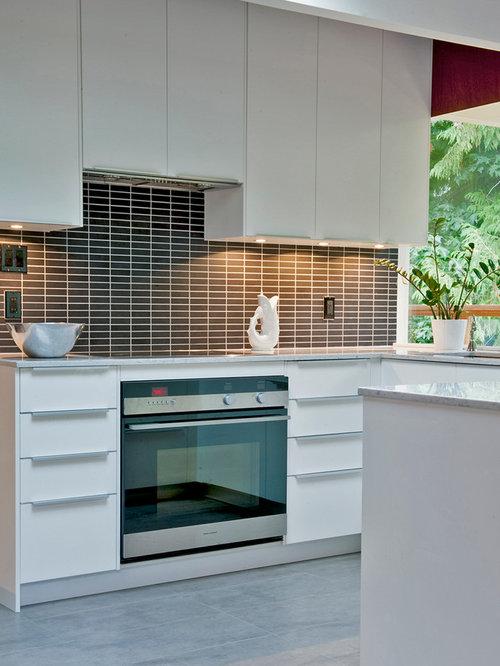 Ideas para cocinas dise os de cocinas retro con - Salpicadero cocina ikea ...
