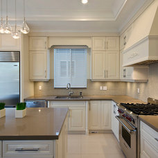 Contemporary Kitchen by Positive Space Staging and Design Inc.