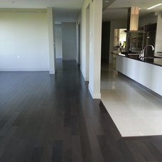 Contemporary Kitchen by Global Carpets and Hardwood Ltd