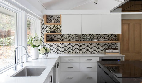 A Midcentury Kitchen With a Dior-Inspired Touch