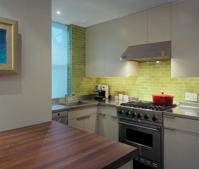 Contemporary Kitchen by Ondine Karady Design