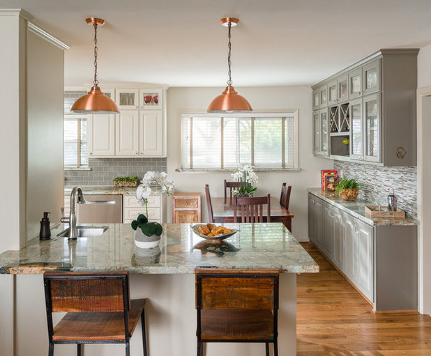 Traditional Kitchen by MMI Design