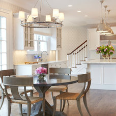 Transitional Kitchen by Jacob Snavely Photography