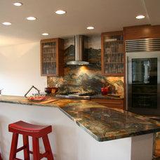 Asian Kitchen by Chanelle M Woodis / Creative Kitchen & Bath