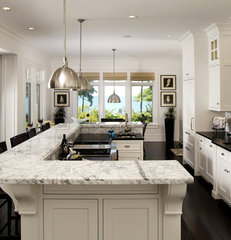 contemporary kitchen by Visbeen Associates, Inc.