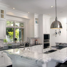 Transitional Kitchen by Visbeen Architects