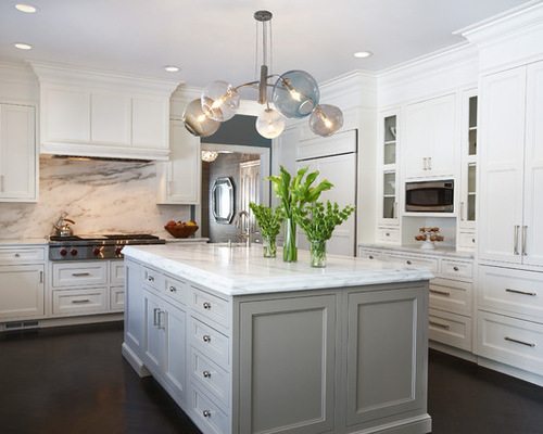 gray kitchen island grey island houzz 1326