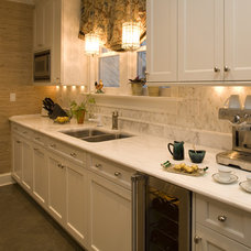 Traditional Kitchen by Artistic Tile