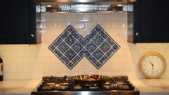 Westchester, NY Kitchen backsplash