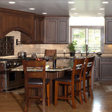 Traditional Kitchen by Somrak Kitchens, Inc