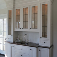 Transitional Kitchen by CLEMENS PANTUSO Architecture
