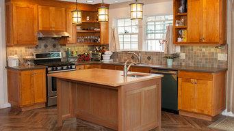 Westfield, Handmade kitchen and computer station