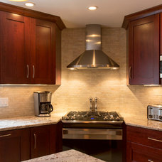 Transitional Kitchen by Inspired Design of Harvard, MA