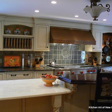 Mediterranean Kitchen by Kitchen Art of New England LLC
