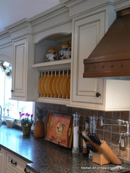 Mediterranean Kitchen by Kitchen Art of New England LLC