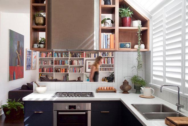 Современный Кухня by Brave new eco