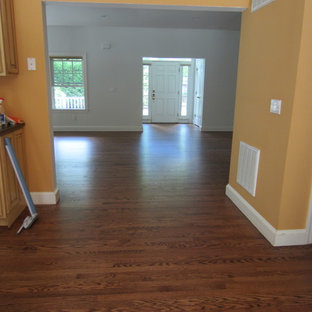 Westhampton - Red Oak stained Early American and Bona Traffic HD poly