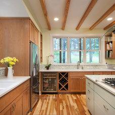 Craftsman Kitchen by Laura Burton Interiors