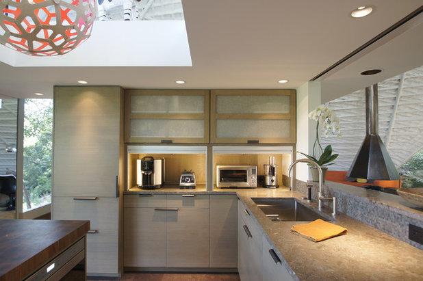モダン キッチン by Meier Residential