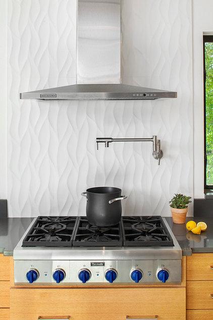 Contemporary Kitchen by Laura Burton Interiors
