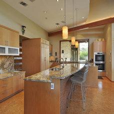 Contemporary Kitchen by Cornerstone Architects
