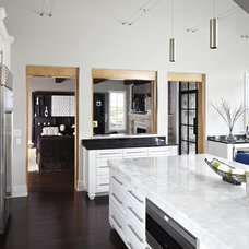 contemporary kitchen by Tracy Miller/Miller Greene Design Studio