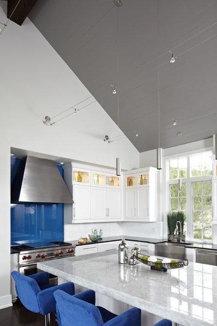 Contemporary Kitchen by Tracy Miller/Miller Greene Design Studio