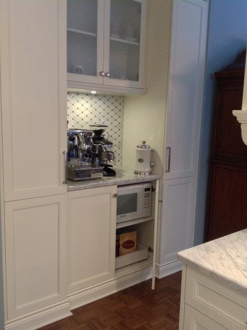 cuisine classique avec un sol en linol um photos et id es d co de cuisines. Black Bedroom Furniture Sets. Home Design Ideas