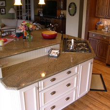 Traditional Kitchen by RJL Designs-LLC