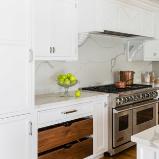 75 Beautiful White Kitchen With Quartz Countertops Pictures