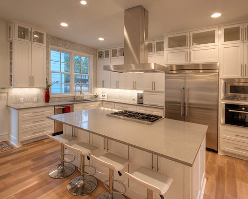 Modern traditional kitchen houzz for Kitchen tradition