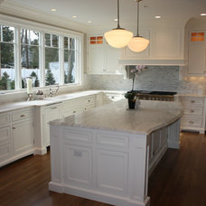 Contemporary Kitchen by La Pietra Marble, Inc.
