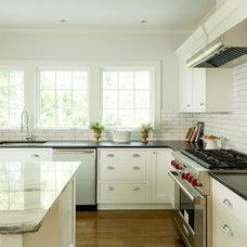 Farmhouse Kitchen by Thiel Architecture + Design