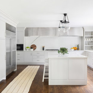 75 Beautiful Flat-Panel Kitchen Cabinet Pictures & Ideas   Houzz