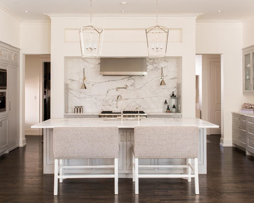 Gray Cabinets Dark Floors | Houzz