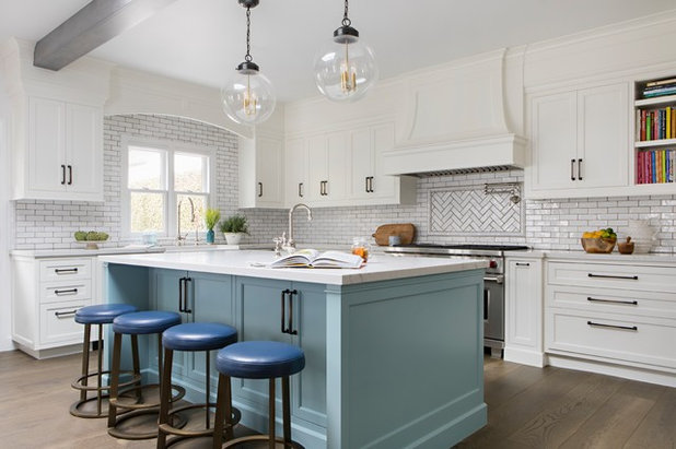 Transitional Kitchen by Paige Pierce Design