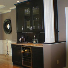 Transitional Dining Room by Taylor Made Cabinets, Leominster MA