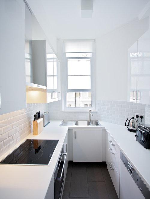 Küchen in U-Form mit Laminat-Arbeitsplatte Ideen & Bilder | HOUZZ