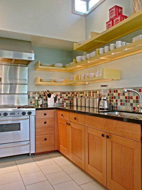 Multi Colored Backsplash Tile Photos - Multi Colored Backsplash Tile Design Ideas & Remodel Pictures Houzz