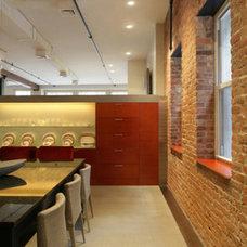 Modern Kitchen by Rodriguez Studio Architecture PC