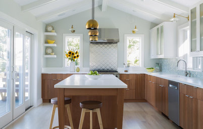 New This Week: 3 Kitchens Embrace Bright Modern Style