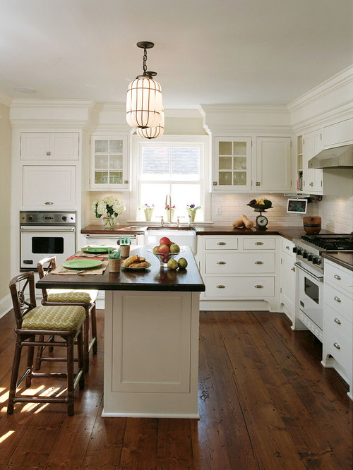 Minwax early american floor houzz - Fotos de cocinas americanas ...