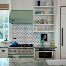 Beach Style Kitchen by Wright-Ryan Homes