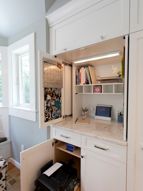 Retractable cabinet doors houzz - Retractable kitchen cabinet doors ...