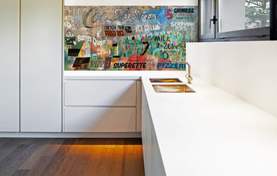 Artful Impact: How Bold Images and Surfaces Invigorate a Home