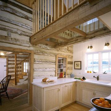 Wheatland Farms Log Cabin