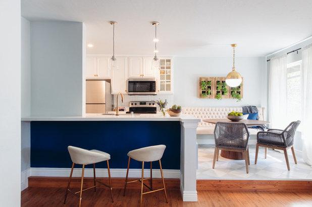 Transitional Kitchen by Studio Revolution