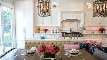 Whimsical Kitchen & Family Room