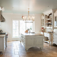 Eclectic Kitchen by Mullet Cabinet