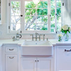 Gourmet Antique Farmhouse Kitchen Chicago By